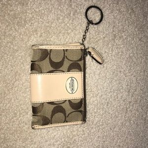 Used Coach coin purse